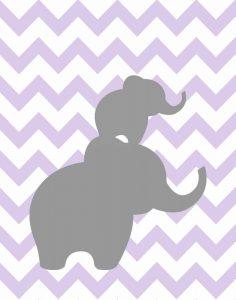 Elephant Chevron II