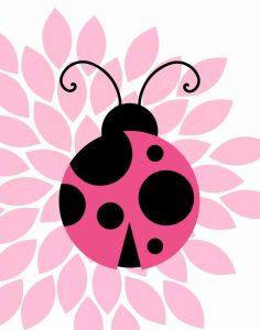 Pink Ladybug II