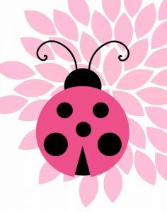 Pink Ladybug III