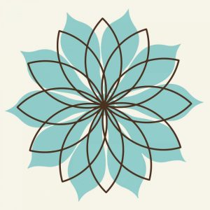 Flower Outline 3D