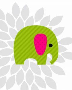 Elephant Flower I