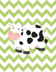 Chevron Cow