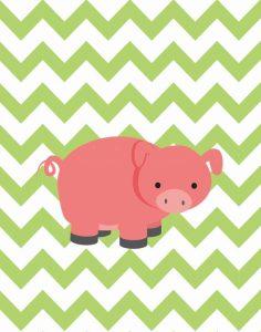 Chevron Pig