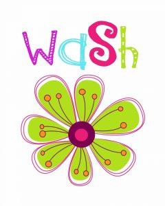Wash Flower