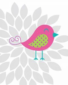 Bird Flower I