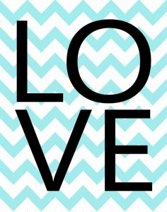 Love Chevron I