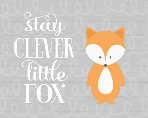 Stay Clever Fox
