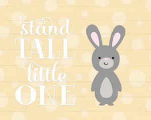 Stand Tall Bunny II