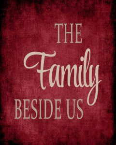 The Family Beside Us – Red