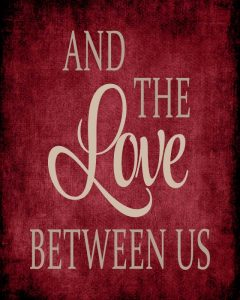 The Love Between Us – Red