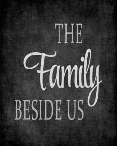The Family Beside Us – Grey