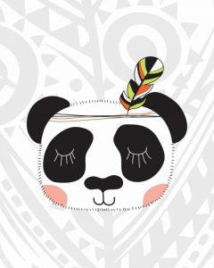Tribal Panda