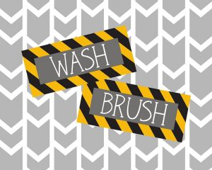 Construction Wash Brush