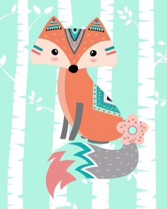 Tribal Fox Girl II