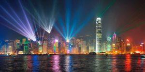 Symphony of lights, Hong Kong