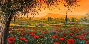 Pianura in fiore