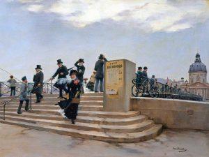 On the Pont des Arts, Paris (detail)