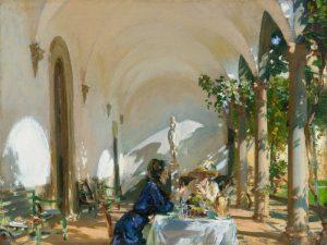 Breakfast in the Loggia