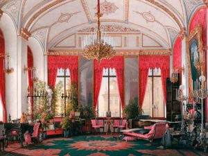 Interiors of the Winter Palace: the Raspberry Study
