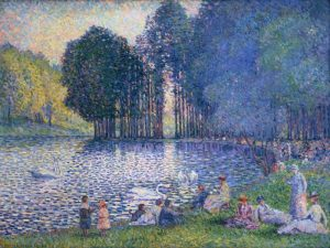 The Lake of the Bois de Boulogne