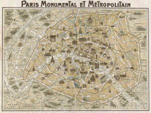 Paris Monumental et Metropolitain 1932