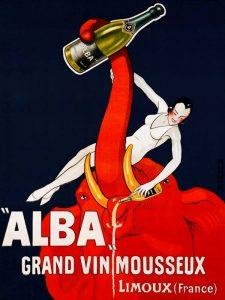 """""""Alba"""" Grand Vin Mousseux ca. 1928"""