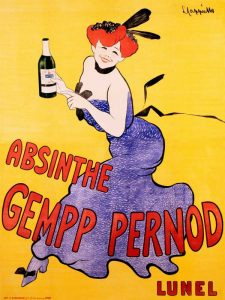Absinthe Gempp Pernod 1903