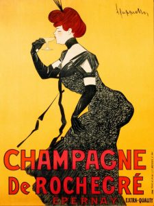 Champagne de Rochegre ca. 1902