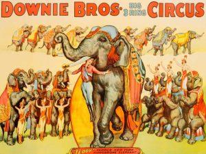Downie Bros. Big 3 Ring Circus 1935