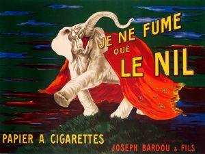 Je ne fume que Le Nil 1912