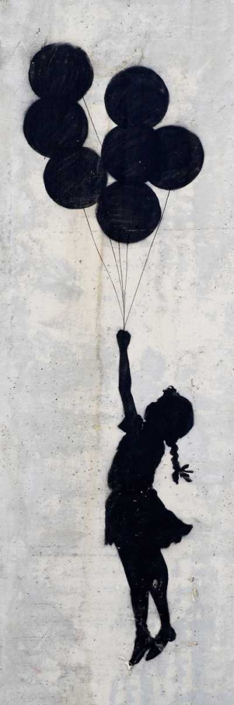 West Bank Wall, Palestine (graffiti attributed to Banksy)
