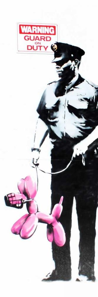 Los Angeles (graffiti attributed to Banksy)