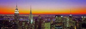 Midtown Manhattan at Sunset NYC