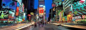 Times Square facing North NYC