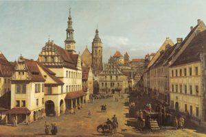 Marketplace In Pirna