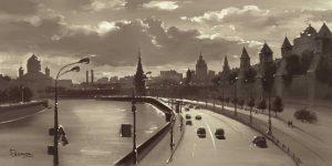 The Moscow Kremlin River Walk