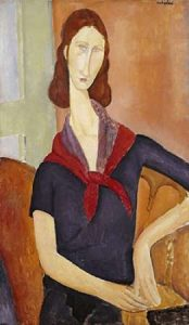 Jeanne Hebuterne (with a Scarf)