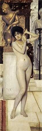 Skigge Und Eingelstudie Fur Die Allegorie Der Skulptur