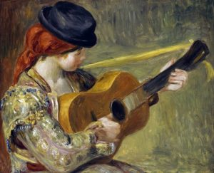 Girl with a Guitar, 1897