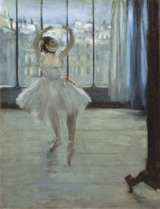 The Dancer at the Studio