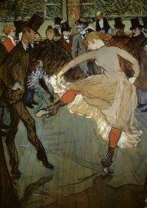 Dance at the Moulin Rouge – Detail