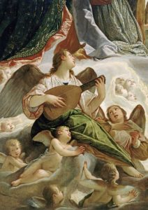 Trinity With Saints Ursula and Margaret-Detail