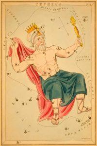 Cepheus, 1825