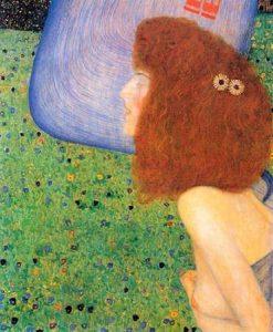Girl With Blue Veil 1903