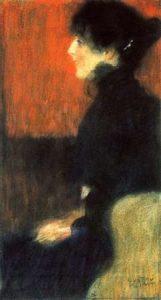 Portrait Of A Lady 1898