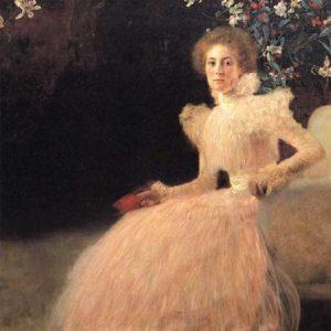 Portrait Of Sonja Knips 1898