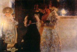 Schubert At The Piano 1899