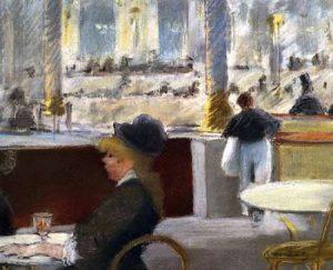 Cafe Place du Theatre Francais