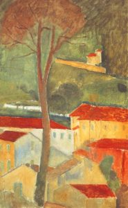 Landscape At Cagnes