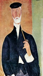 Man With Pipe